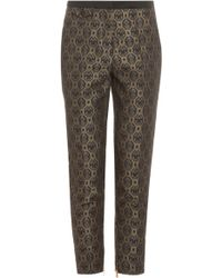 Day Birger Et Mikkelsen Memento Black Printed Trousers - Lyst