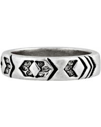 House Of Harlow Echo Crest Midi Ring - Lyst