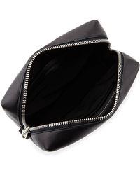 T By Alexander Wang Prisma Rhodium-hardware Leather Washbag - Lyst