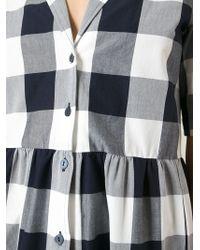 Studio Nicholson - 'Machida' Gingham Dress - Lyst