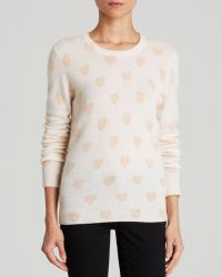Equipment Sweater - Shane Crewneck Broken Hearts Print - Lyst