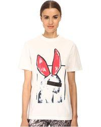 McQ by Alexander McQueen Boyfriend T-Shirt - Lyst
