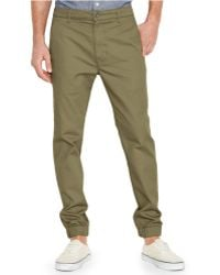Levi's Regular-Fit Chino Joggers green - Lyst