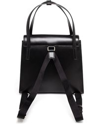 Christopher Kane Leather Backpack Handbag - Lyst