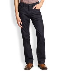 7 For All Mankind Luxe Performance: Austyn Relaxed Straight-Leg Jeans - Lyst