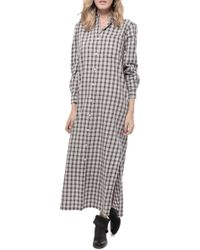 The Great Market Dress gray - Lyst