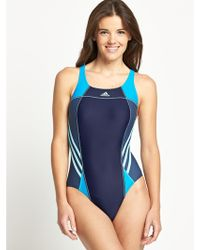 Adidas Multicolor Swimsuit - Lyst