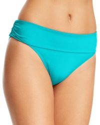 Kenneth Cole Reaction Solid Hipster Bikini Bottom - Lyst