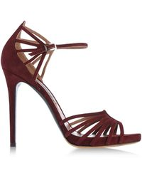 Tabitha Simmons Sandals - Lyst