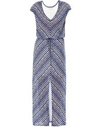 Velvet By Graham & Spencer Aztec Stripe Maxi Dress - Lyst