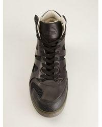 Alexander McQueen x Puma Hitop Sneakers - Lyst