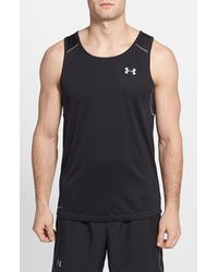 Under Armour Coldblack Fitted Running Tank - Lyst