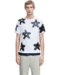 Acne Studios Eddy Symbols Stars White - Lyst