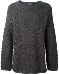 Dolce & Gabbana Chunky Knit Sweater - Lyst