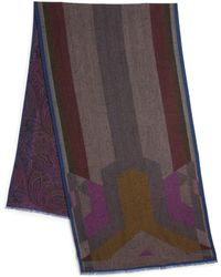Etro Two-Sided Scarf - Lyst