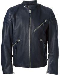 Acne Studios 'Oliver' Biker Jacket - Lyst