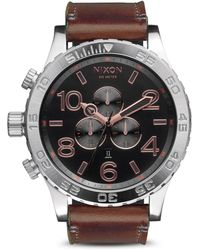 Nixon The 51-30 Chronograph Watch, 51Mm - Lyst