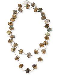 Margo Morrison - Faceted Flat Labradorite Necklace - Lyst