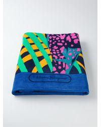 Ferragamo Giraffe Print Beach Towel - Lyst