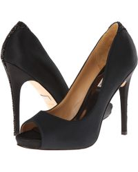 Badgley Mischka Black Joey - Lyst