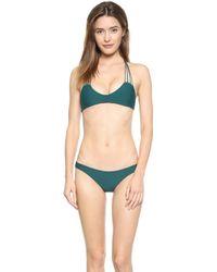 Mikoh Swimwear Seychelles One Piece Swimsuit - Kelp - Lyst