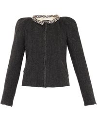 Isabel Marant Huntley Embellished Wool Jacket - Lyst