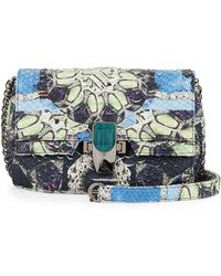 Kara Ross - Petra Python Mini Shoulder Bag - Lyst