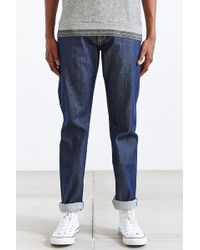 Unbranded - True Blue Tapered Selvedge Jean - Lyst