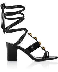 Tamara Mellon Montauk Sandal - 75Mm black - Lyst
