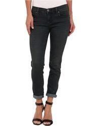 Free People La Roller Crop Jean - Lyst