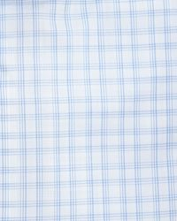 Ike Behar Check Woven Dress Shirt Blue - Lyst
