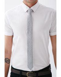 Forever 21 - Striped Seersucker Tie - Lyst
