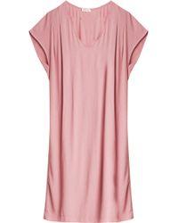 American Vintage Magdelena Dress pink - Lyst