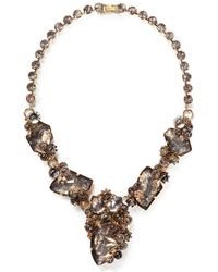 Erickson Beamon 'Temporal Schism' Glitter Crystal Necklace - Lyst