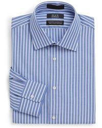 Saks Fifth Avenue Black Label - Modern Classic Fit Pencil Stripe Dress Shirt - Lyst