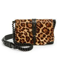 Rag & Bone 'Mini Enfield' Genuine Calf Hair & Leather Crossbody Bag - Lyst