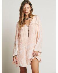 Free People Dreamy Daze Print Dress - Lyst