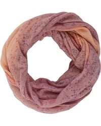 Barneys New York Tiedye Eternity Scarf - Lyst