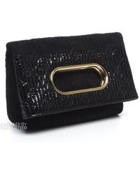 Louis Vuitton Pre-owned Limited Edition Motard After Dark Clutch - Lyst