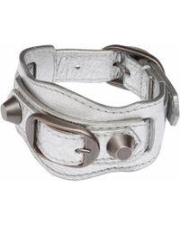 Balenciaga White Classic Bracelet - Lyst