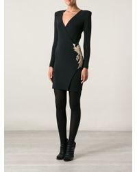 Balmain Sequin Detail Dress - Lyst