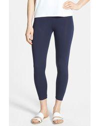 Eileen Fisher Women'S Organic Cotton Crop Leggings - Lyst