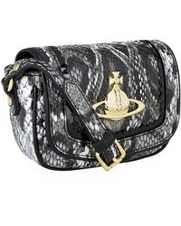 Vivienne Westwood Small Frilly Snake Crossbody Bag - Lyst