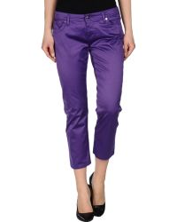 Who*s Who - 3/4-length Trousers - Lyst