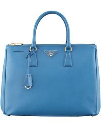 Prada Saffiano Executive Tote Bag - Lyst