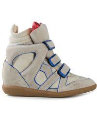 Isabel Marant 'Wila' Sneakers - Lyst