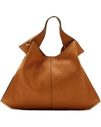 Vince Camuto Brit Leather Tote Bag - Lyst