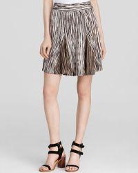 Nic + Zoe Nic+Zoe Scattered Lines Skirt multicolor - Lyst