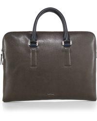 Paul Smith Portfolio Briefcase - Lyst
