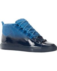Balenciaga Ombré Arena High-Top Sneakers - Lyst